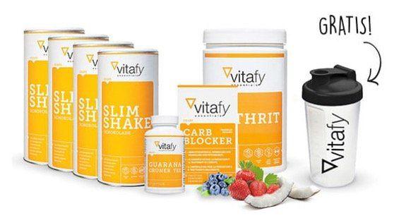 Vitafy Slim Shake Paket für 49,99€ (statt 70€) + gratis Shaker