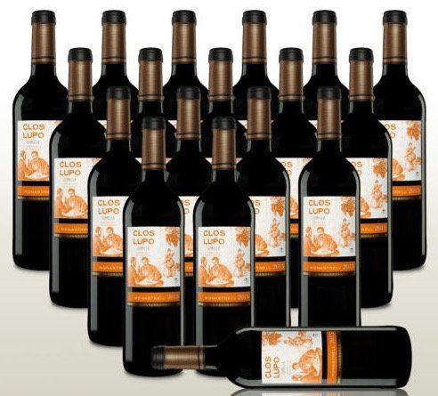 18 Flaschen Clos Lupo Monastrell 2015 Rotwein aus Spanien für 53,52€