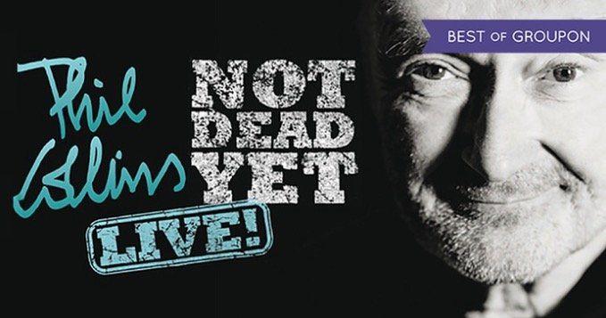 1 VIP Ticket (Logenplatz) für Phil Collins Konzert in der Lanxess Arena für 179€ (statt 262€)