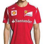 Ferrari Klamotten Sale bei vente-privee – z.B. Shirt mit Printmuster ab 33€
