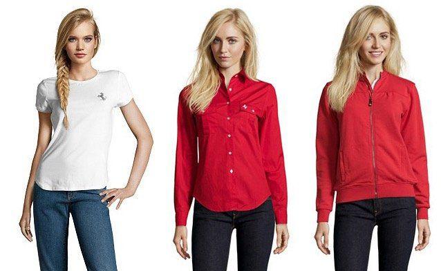 Ferrari Klamotten Sale bei vente privee   z.B. Poloshirt mit Printmuster ab 29,90€