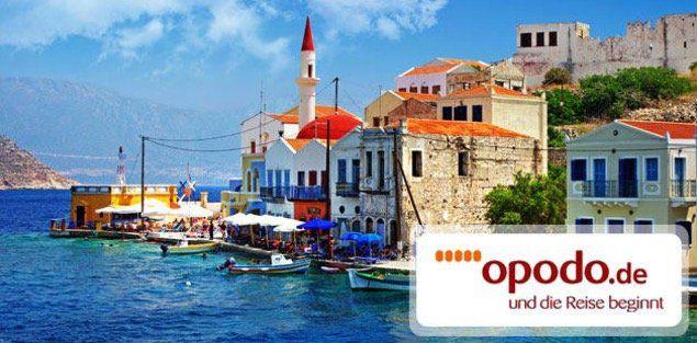 100€ opodo Reisegutschein für Lastminute  und Pauschalreisen für nur 9,90€