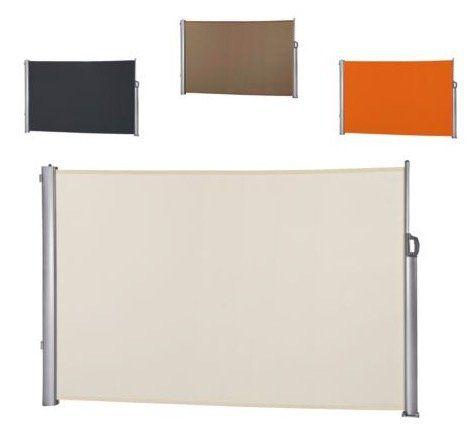 Leco Seitenmarkise bis 300cm ausziehbar + Wandhalterung für 39,99€ (statt 77€)