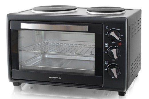 Emerio MO 109610 Mini Backofen mit Kochplatten für 59,99€ (statt 70€)