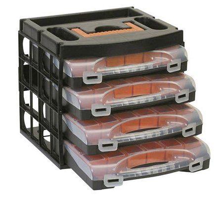 Alutec Sortimentskoffer Set mit 4 Schubladen für 19,99€ (statt 24€)