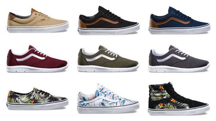 Vans mit bis zu  50% auf ausgewähle Sneaker im Black Freitag Sale