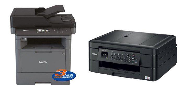 20% Rabatt auf Brother Drucker   z.B. MFC L5700DN Monolaser für 245€ (statt 295€)