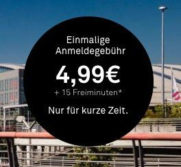 DriveNow Anmeldung nur 4,99€ (statt 29€) inkl. 15 Freiminuten