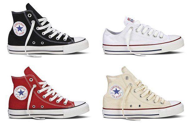 Converse Chucks Taylor All Star Hi oder Low für 33,99€