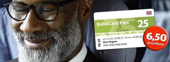 BahnCard Flex ab 4,50€ pro Monat   nur 3 Monate Laufzeit, danach monatlich kündbar