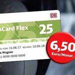 BahnCard Flex ab 4,50€ pro Monat – nur 3 Monate Laufzeit, danach monatlich kündbar