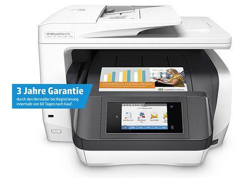 HP OfficeJet Pro 8730 Tintenstrahl Multifunktionsgerät für 187,11€ (statt 255€)