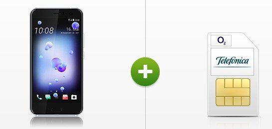 HTC U11 + o2 Flat mit 15GB LTE für 34,99€ mtl. + 6 Monate Sky Ticket