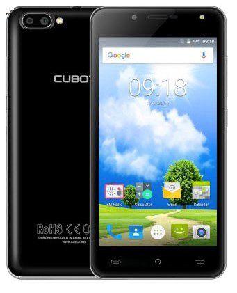 Cubot Rainbow 2   5 Zoll Einsteiger Smartphone mit Android 7 + 16GB für 55,22€