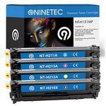 4er Sets NINETEC Toner-Kartuschen kompatibel zu Brother, HP, Samsung für je 69,99€