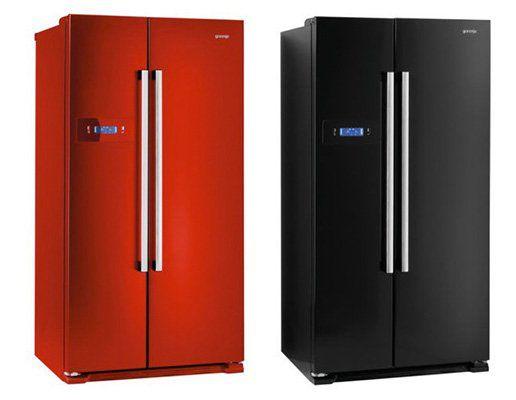 Side By Side Kühlschrank Gorenje : Gorenje side by side kühl gefrierkombis in versch farben mit