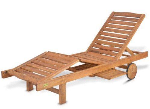 Hecht Resort A Sonnenliege mit Seitentisch für 75,65€ (statt 125€)
