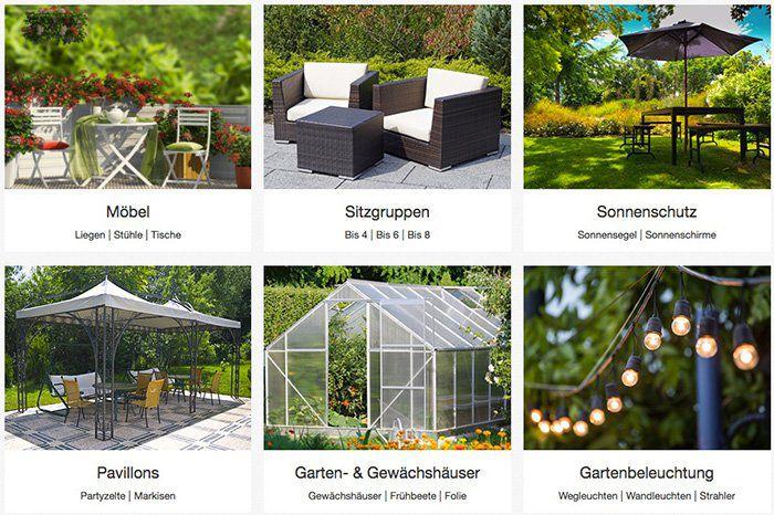 15% Rabatt auf Gartenartikel bei eBay   z.B. Sonneninsel für 339,96€ (statt 420€)