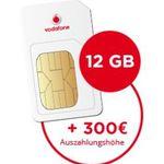 Vodafone DataGo LTE Datentarife mit bis zu 300€ Bargeldprämie