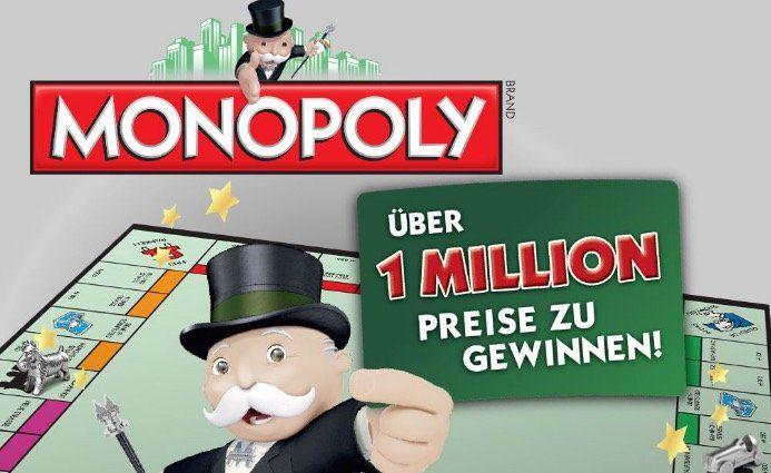 Galeria Kaufhof Monopoly spielen und mit Glück einen von vielen Preisen gewinnen   z.B. 5€ Gutschein