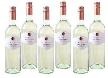 6 Flaschen Pinot Grigio Delle Venezie IGT Weißwein für 24,94€ (statt 35€)