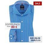 Marken-Hemden im Doppelpack bei Hirmer – z.B. 2er GANT Hemden für 120€ oder 2er Tommy Hilfiger für 70€