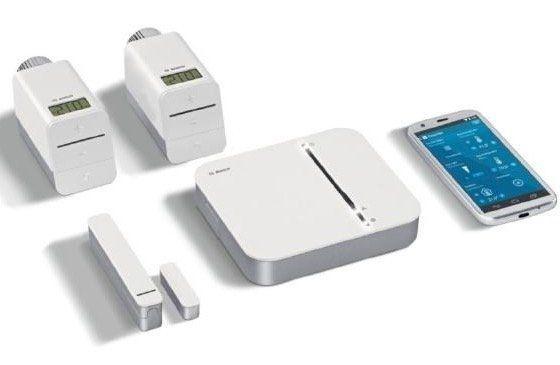 Bosch Smart Home Raumklima Starter Set mit App Funktion für 251€ (statt 283€)