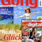 "13 Ausgaben der ""Gong"" + ""digital"" komplett kostenlos"