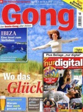 13 Ausgaben der Gong + digital komplett kostenlos
