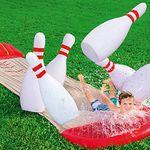 Bowling Wasserrutsche Slide-n-Splash + 6 Pins für 22,94€ (statt 50€) dank 15% Rabattaktion