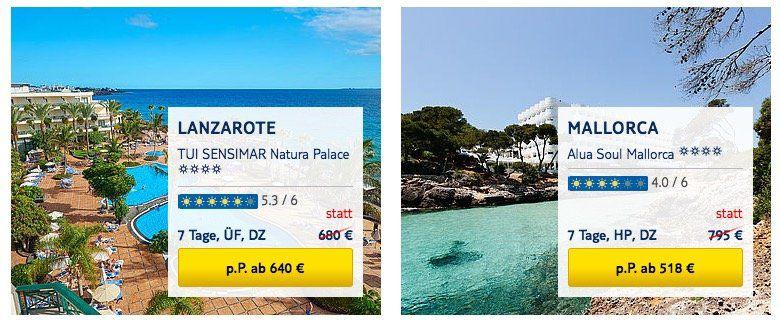 Endet heute! TUI mit 100€ Rabatt pro Person (!) auf Pauschalreisen ab 399€ p.P.   HOT!