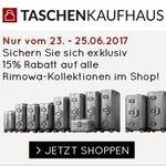 15% Rabatt auf Rimowa Koffer + weitere 5% bei Vorkasse – z.B. Salsa Air Multiwheel Trolley 77 für 354,49€ (statt 449€)