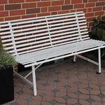 Leco Stahl-Gartenbank 2-Sitzer mit 150cm für 56,69€ (statt 76€)