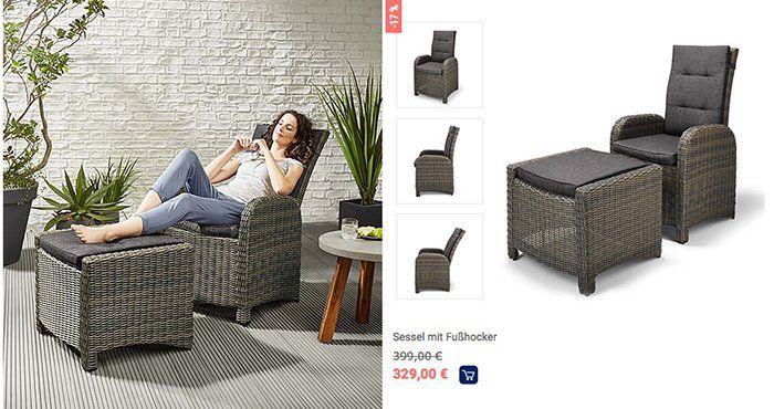 Gartenmöbel Trends bei Tchibo + 10% Rabatt   z.B. Iglu Pavillon mit Sommerdach für 359,10€