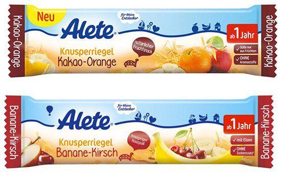 72er Pack Alete Früchteriegel für 11€ (statt 29€)   MHD beachten!