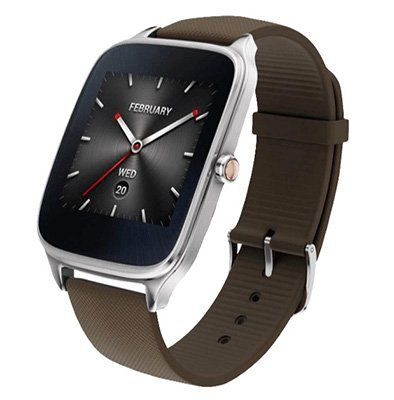 Asus ZenWatch 2 Smartwatch mit Silikonarmband für 85,90€ (statt 119€)