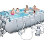 Bestway Frame Pool Power Steel Set inkl. Sandfilter für 330,65€ (statt 401€)