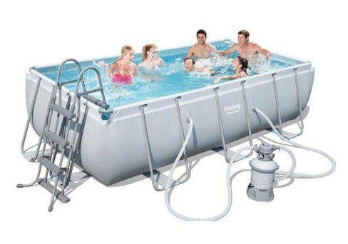 Bestway Frame Pool Power Steel Set inkl. Sandfilter für 330,65€ (statt 401€)