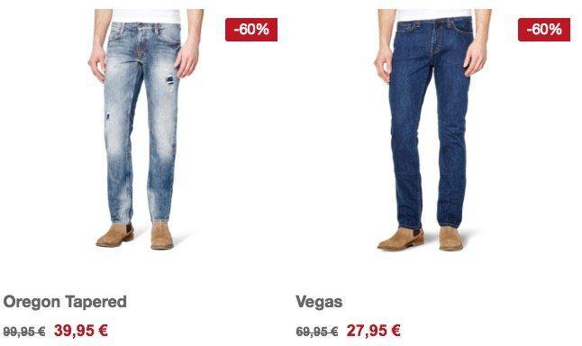Mustang Sale bis  60%   z.B. Vegas Herren Jeans für 31,90€ (statt 42€)
