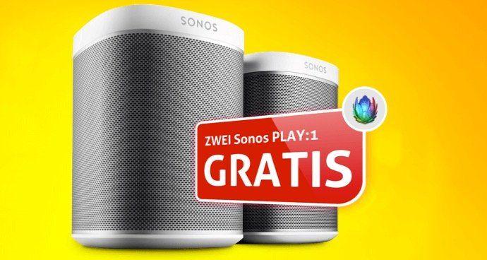 Abgelaufen:  Unitymedia 2play Start 20 (20 Mbit/s Internet + Tele Flat) ab 18,33€ mtl. + gratis 2 Sonos Play:1 dazu