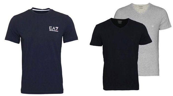 Emporio Armani Herren T Shirt für 34,99€   oder das 2er Pack CC722 Armani Shirt für 34,99€