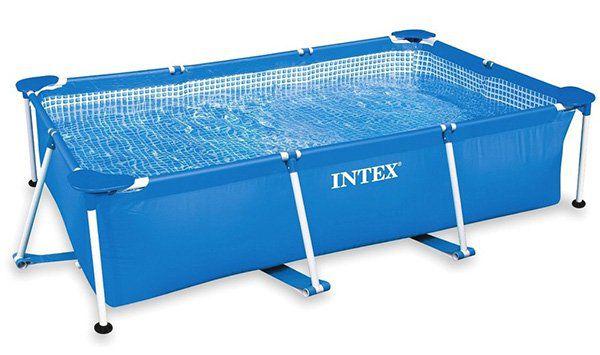Intex Family Frame Pool (260 x 160 x 65cm) ohne Pumpe für 52,79€ (statt 64€)