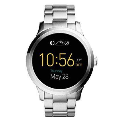 Fossil Q Founder Android Smartwatch mit Edelstahl Armband für 199€ (statt 250€)