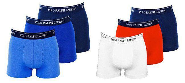 3er Pack Ralph Lauren Trunks Boxershorts für 34,99€ (statt 40€)