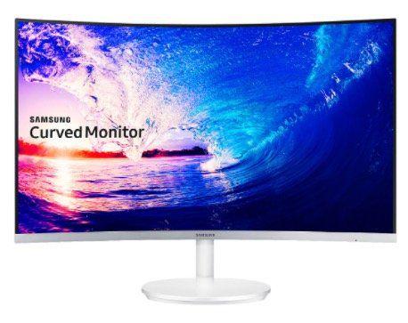 Samsung C27F581FDU   27 Zoll Curved FHD Monitor mit FreeSync für 199€ (statt 255€)