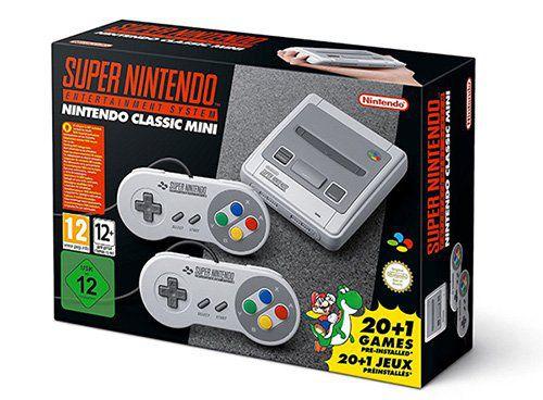 Ausverkauft! Super Nintendo Classic Mini ab 99€ vorbestellen