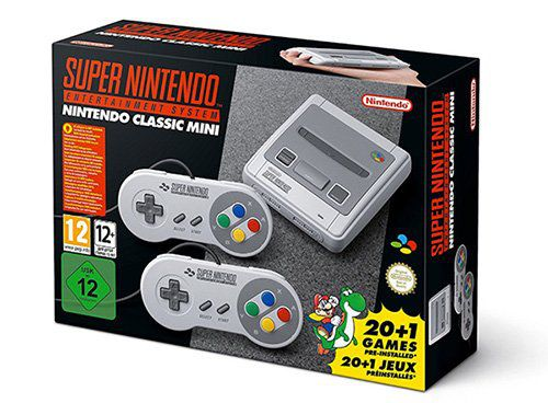 Super Nintendo Classic Mini   SNES mini kaufen ab 60€ (statt 75€)