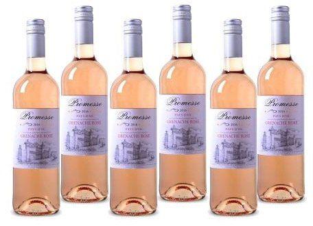 6 Flaschen Pays dOc IGP Promesse Grenache Rosé Wein für 24,99€