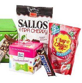 Süßigkeiten Probierbox effektiv gratis   nur Prime Mitglieder!