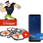 Samsung Galaxy S8 + Jamara Drohne für 49€+ Vodafone Smart L Flat mit 2GB LTE für 39,99€ mtl.